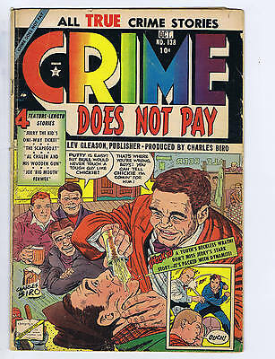 Crime Does Not Pay #138  Lev Gleason Pub 1954