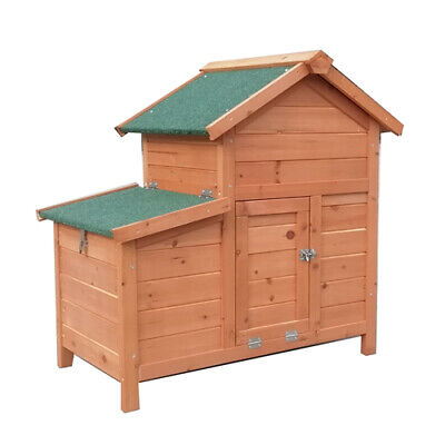 Hutch 90*45*70cm Rabbit Ferret Guinea Pig Cage Run  with TRAY T026 FREE PICK UP