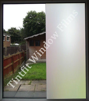WHITE FROST 50cm x 2m - PRIVACY MATTE OPAL ETCH FROSTED WINDOW TINTING TINT FILM