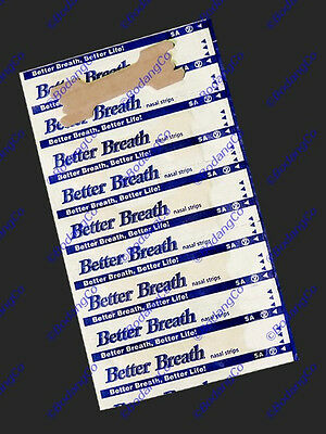 120 (100+20) NASAL STRIPS MEDIUM/SMALL~Breathe Better & Reduce Snoring Right Now