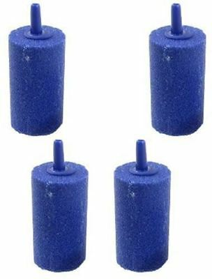 Pack of 4 Cylinder Air Stone 33x22mm Airstone Oxygen into Pond or Fish Tank
