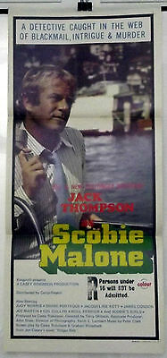 Scobie Malone - Jack Thompson - Original Australian Daybill Movie Poster