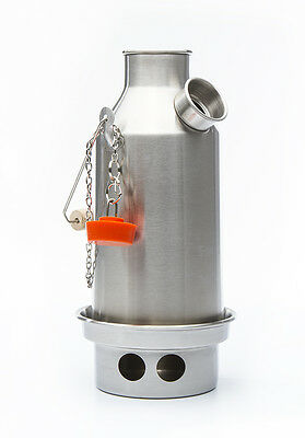 Stainless Steel Trekker (0.6L) Kelly Kettle, Kits & Accessories - Volcano Kettle