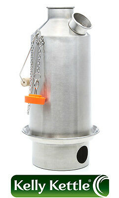 Aluminium Base Camp (1.6L) Kelly Kettles, Kits and Accessories - Volcano Kettle