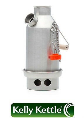 Aluminium Trekker (0.6L) Kelly Kettle, Kits and Accessories  -  Volcano Kettle