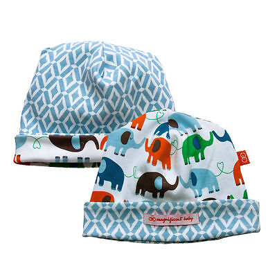 Magnificent Baby Reversible Hat to match the Footie, one size, 100% cotton