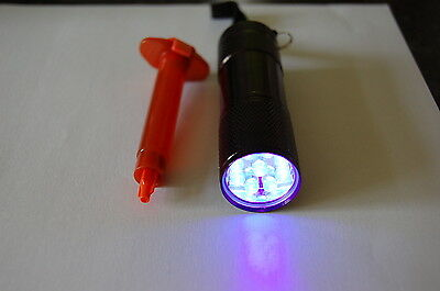 3Ml Loca Glue  &  9 Led Uv Torch  Compatible With Iphone ,samsung ,htc