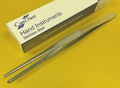 Surgical / Veterinary Dressing  Forceps 18 cm  1 x 2 Teeth  *St Steel CE *
