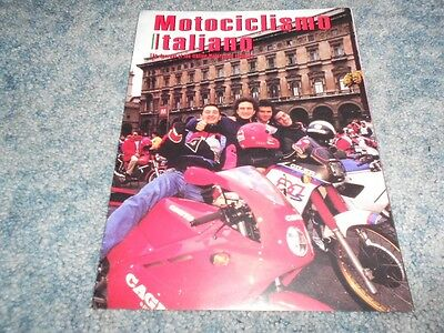 1992 Motociclismo Italiano Motorcycle Industry Magazine Journal Profiles