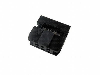 20X 6 Pin 2x3 2.0mm Pitch IDC FC-2.0 Female Wire Header Connector for Flat Cable