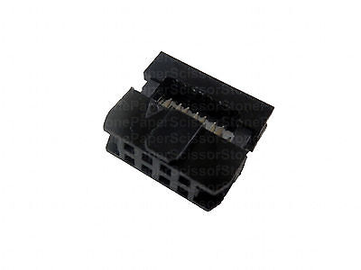 20X 8 Pin 2x4 2.0mm Pitch IDC FC-2.0 Female Wire Header Connector for Flat Cable