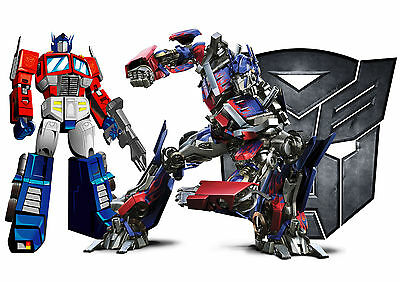 PERSONALISED NAME TRANSFORMERS ULTIMUS PRIME - A3 Laminated Poster 303 x 426mm