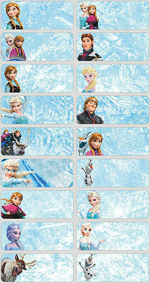 60 Disney Frozen pictures personalised name label
