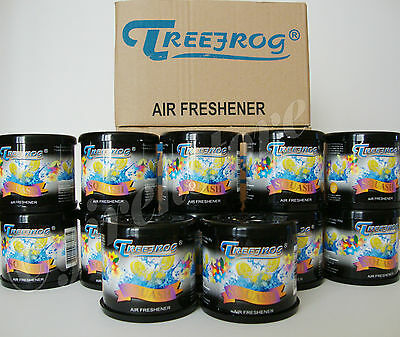 12 Can Treefrog Squash Scent (Black) Air Freshener (Tr21S) 1 Box - 12 Can
