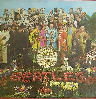 The Beatles Sgt. Peppers Lonely Hearts Club Band Spain Lp Mint/nm- Insert New