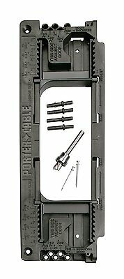 PORTER-CABLE Door Hinge Template, 59370, New, Free Shipping