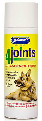 Johnsons 4Joints Extra Strength Liquid Arthritis Dogs Cats 100ml