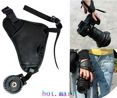 Universal Triangle Leather Hand Grip Wrist Strap for Canon SLR DSLR Camera