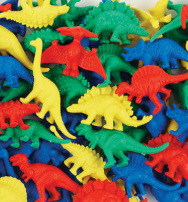 Dinosaur Counters - Pretend Play Counting Sorting Colour Games