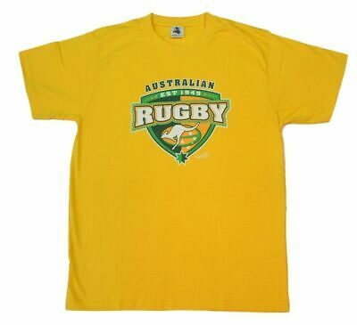 Adult T Shirt Australian Australia Day Souvenir 100% Cotton - Rugby Union