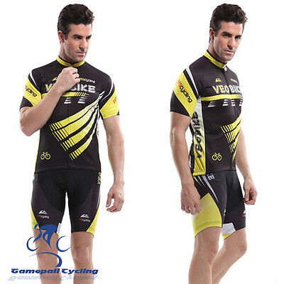 Bike Bicycle Clothing Summer Breathable Short Sleeve Jersey and Shorts 3D Gel