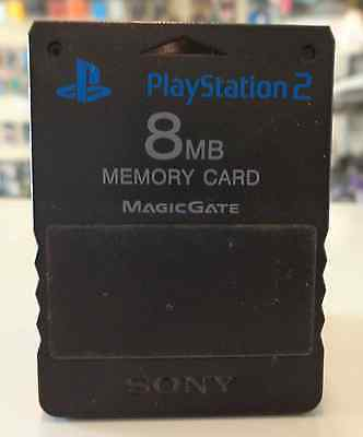 Console Gioco Game SONY Playstation 2 PS2 PSX2 Play MEMORY CARD 8 MB Originale