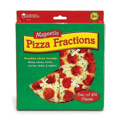 Magnetic Pizza Fraction Demonstration Manipulative Set
