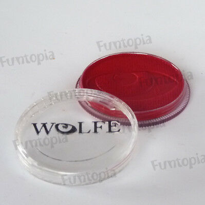 Wolfe FX 30g Pot Essential Red PE1030 Professional Face and Body Paint Make up