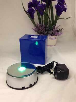 NEW LED Multi Color Light Stand Base Turning With Oz Adapter -Multi Functions