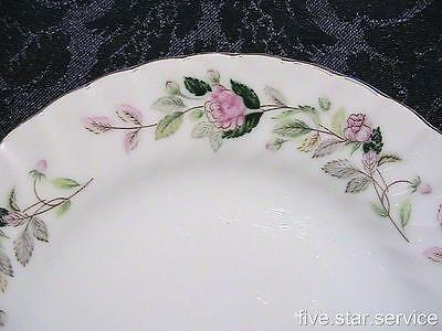 REGENCY ROSE Creative Fine China 2345 Japan BREAD BUTTER PLATE/s pink rose/s &