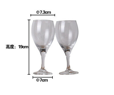 BULK LOT x 48 WINE GLASS GLASSES WHOLESALE LARGE