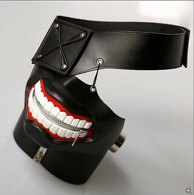POPULAR Anime Tokyo Ghoul MASK Leather COSPLAY Prop Japanse New