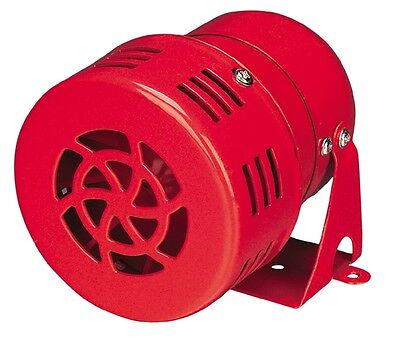 AC 220V Mini Motor Driven Air Raid Siren Horn For Car Truck Alarm MS-190