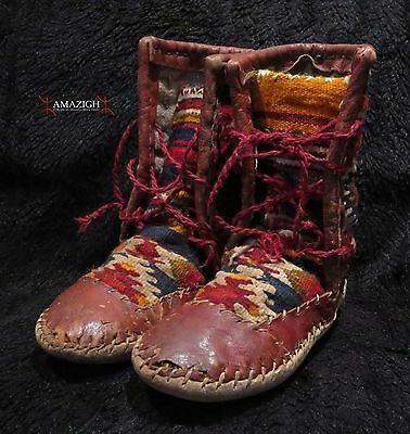 Old Berber Boots – Zemmour Tribe – Middle Atlas, Morocco