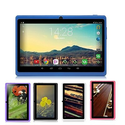 """9 Colors iRulu 7"""" 8GB Android 4.2 Tablet PC Dual Core Dual Camera WIFI 1.5GHz"""