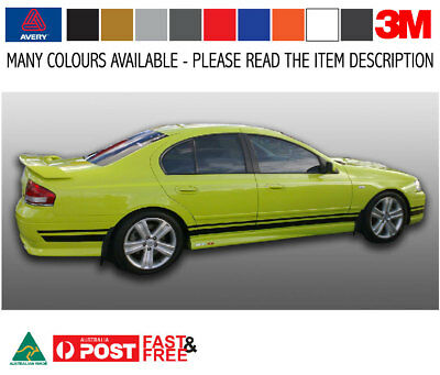 BA BF Sedan FORD GT XR6 XR8 Stripe Kit 3M-50