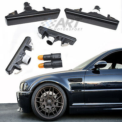 Intermitentes Laterales Oscuros Para Bmw E46 M3 Indicatori Side Repeaters