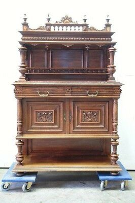 5509022 : Antique French Renaissance Carved Server Console Table