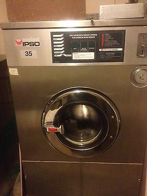 Ipso 35 Lbs Commercial Coin Op Washer