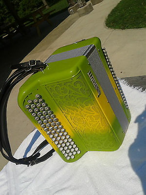 Chromatic Accordion by SEM - French Musette Model 318L C-System Compact Design