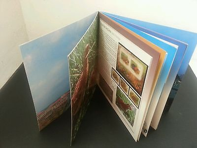 Malaysia Stamp Annual Album 2001 (completed with 6 ms & 13 stamps) MNH *Limited