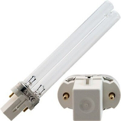 9 Watt, 9W 110-120V UV UV-C Germicidal Bulb 254 nm G23 Base Lamp Bulb
