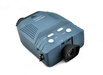 3x Digital Night Vision Monocular Vedio / photograph hunter Can Connect Computer