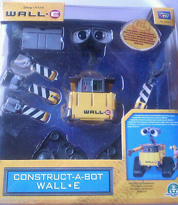 Wall E Construct A Bot 10pc Kit - Disney Pixar Thinkway Toys 60247 - NEW IN BOX