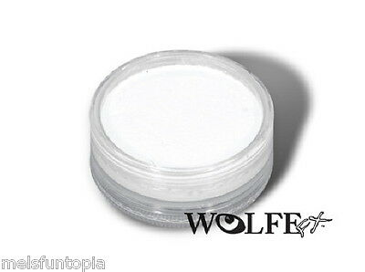 Wolfe FX 45g Pot Essential White Professional Face and Body Paint -Make up Party