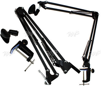 Broadcast Studio Recording Microphone Suspension Boom Scissor Arm Mic Stand