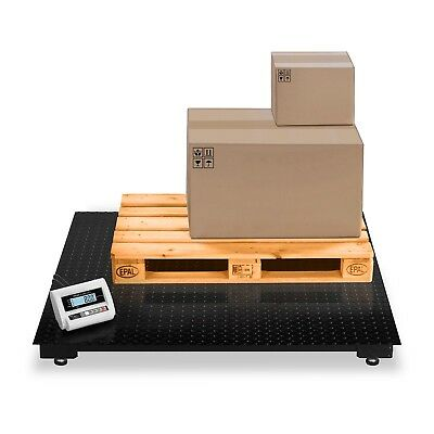 FLOOR SCALE 5000kg/2kg - HEAVY DUTY PLATFORM DIGITAL WEIGHING INDUSTRIAL SCALES