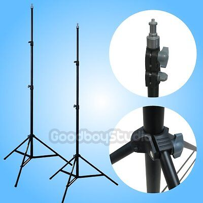 """2PCS Linco ZENITH 200cm / 2M / 6.5ft Studio Compact Light Stand with 1/4"""" Thread"""