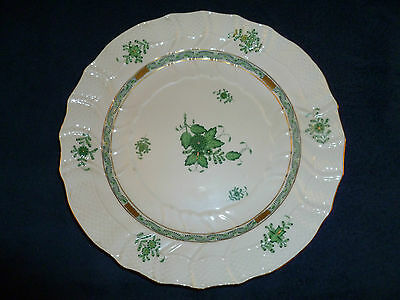 Herend Chinese Bouquet Green Service Plate, 1153/AV