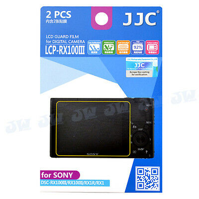 LCD Screen Display Protector Film For Sony DSC-RX100IV RX1R II RX100III RX100M5